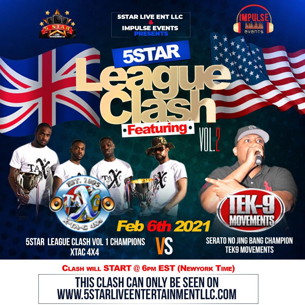 5 star League Clash 2021