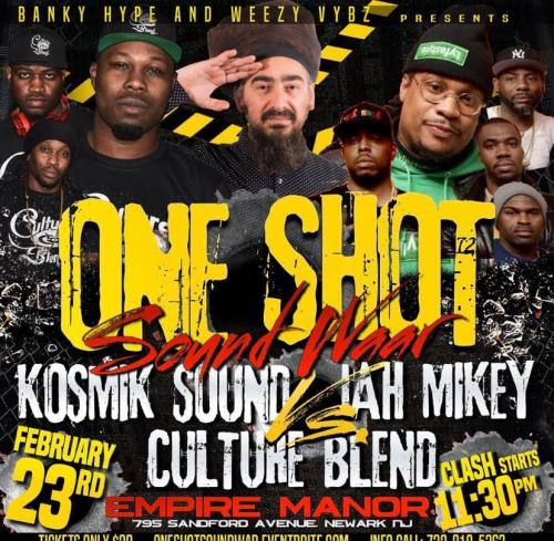 02-23-2019 One Shot Sound Clash
