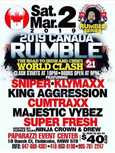 03-02-2019 Canada Rumble