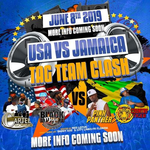 06-08-2019 USA vs Jamaica Tag Team Clash
