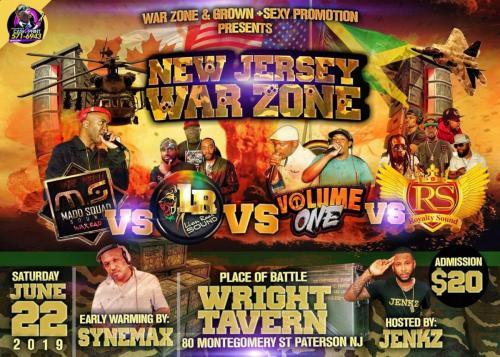 06-22-2019 NJ WarZone Clash 2019