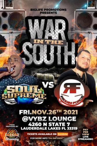 November 2021 War in the South