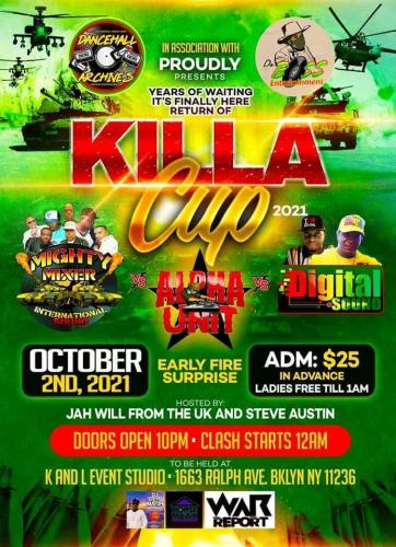 October 2021 Killa Cup